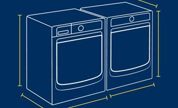 The Ultimate Washer & Dryer Size Guide