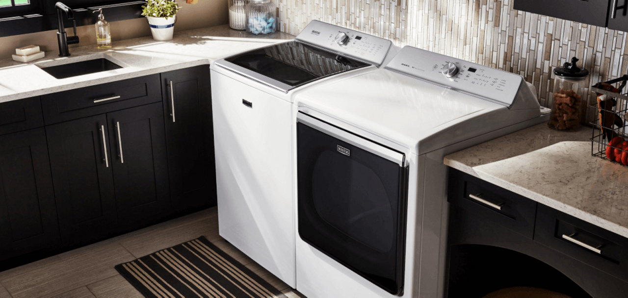 Browse the full line of Maytag® Washers and Dryers.