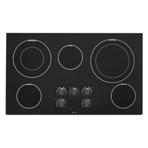 Maytag® 36-inch Wide Electric Cooktop with Dual-Choice™ Elements