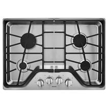 30-inch 4-burner Gas Cooktop with DuraGuard™ Protective Finish