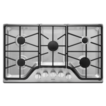 36-inch 5-burner Gas Cooktop with DuraGuard™ Protective Finish