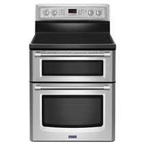 Gemini® Double Oven Stove with EvenAir™ True Convection – 6.7 total cu. ft.