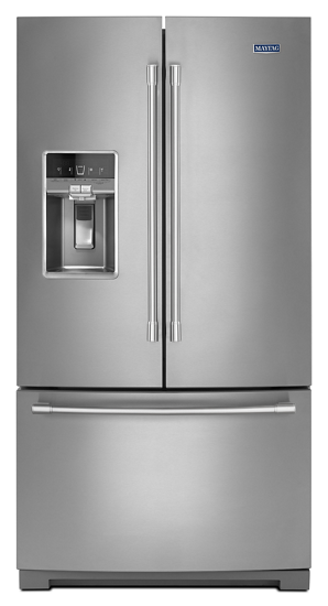 white refrigerator png. maytag 36 inch wide french door refrigerator with dual cool evaporators 27 white png 8