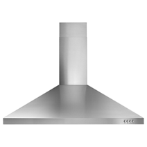 "Whirlpool® 36"" Contemporary Stainless Steel Wall Mount Range Hood"